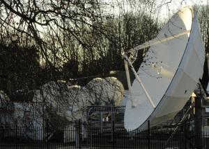 Winchester Teleport uplink antenna